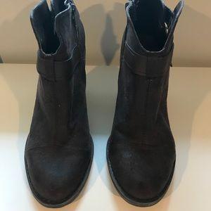Crown Vintage Shoes - Crown Vintage Brown Booties